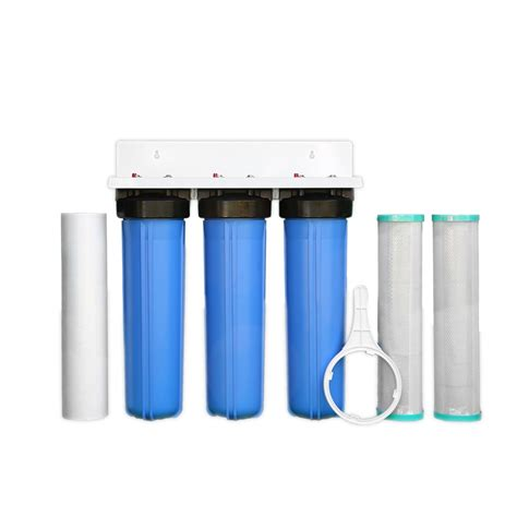 Best Whole House Water Filtration System by Whole House Big Blue High Flow 20 Quot X 4 5 Quot Water