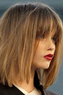 lob hair with side fringe trendy lob haircuts for 2017 new haircuts to try for