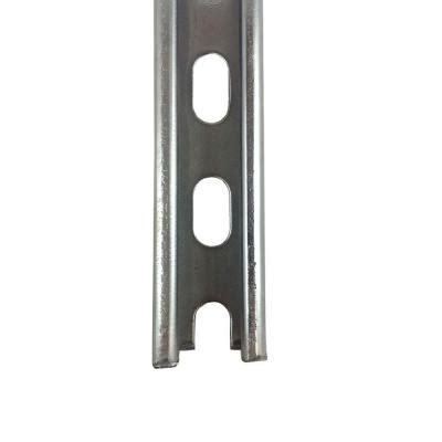 vpc 13 16 in x 6 in galvanized strut channel 13 16 6