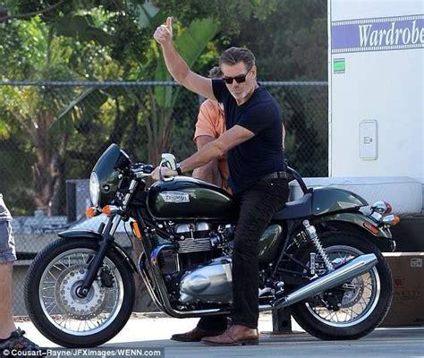 Motorrad Triumph Spr Che by Brosnan Triumph