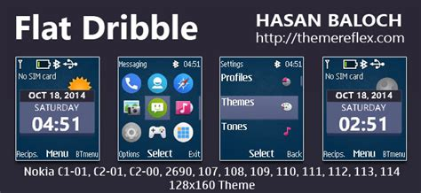 hello kitty themes for nokia c1 01 flat dribble live theme for nokia c1 01 c1 02 c2 00 107