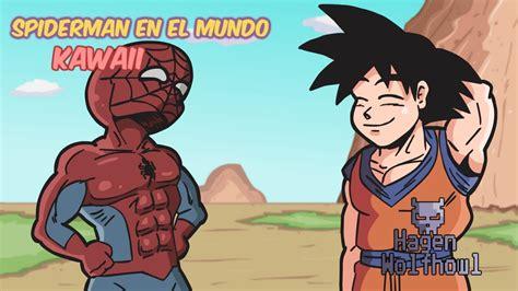 imagenes de goku kawai spiderman en el mundo kawaii youtube