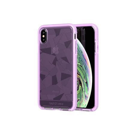 tech21 evo edge for iphone xs max orchid walmart