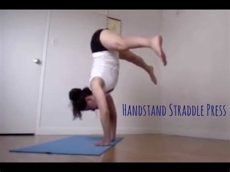 yoga handstand tutorial for beginners yoga handstand press instruction tutorial shana meyerson