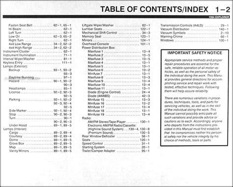 free auto repair manuals 1994 ford explorer parental controls service manual free auto repair service manual pdf 1994 ford explorer electrical troubleshooting manual 93 explorer fuse