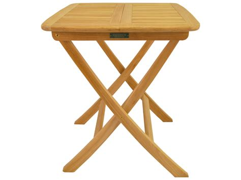 Teak Bistro Table Teak 24 Square Folding Bistro Table Tbf 024s