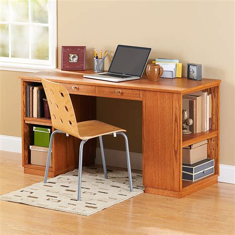 Study Desk by Build To Suit Study Desk Woodworking Plan From Wood Magazine