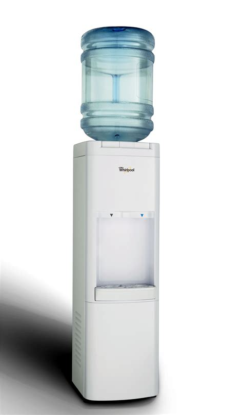 Dispenser And Cool whirlpool white cold and cool water cooler