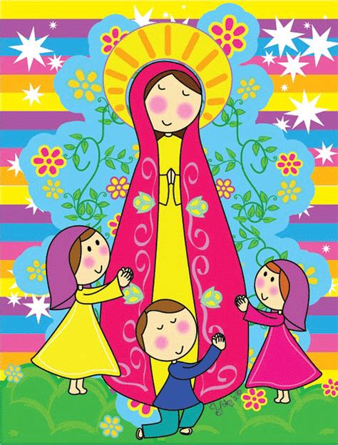 imagenes de la virgen maria de caricatura virgen maria para imprimir