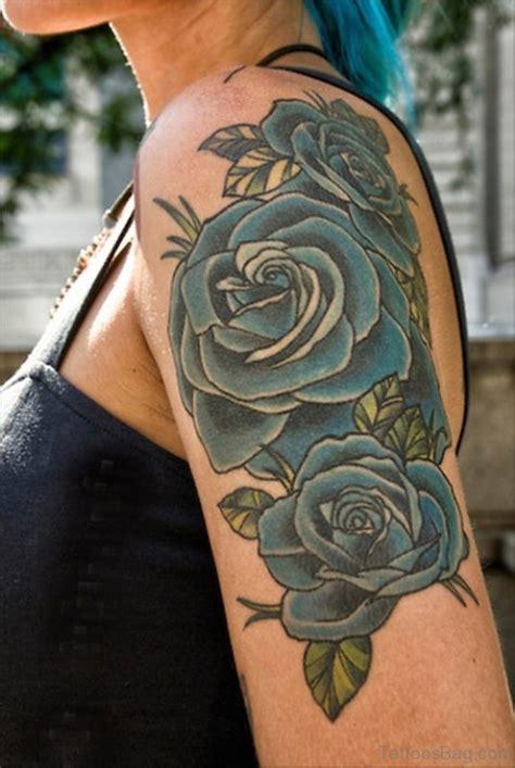 rose tattoo on left shoulder 85 ultimate left shoulder tattoos