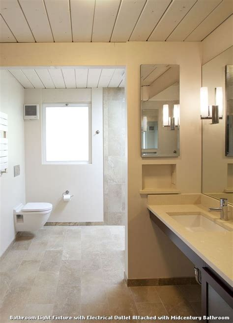 bathroom lighting with electrical outlet lighting ideas