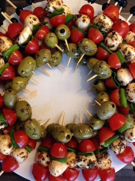 finger apps for christmas fingerfood da mangiare app olives and chicken