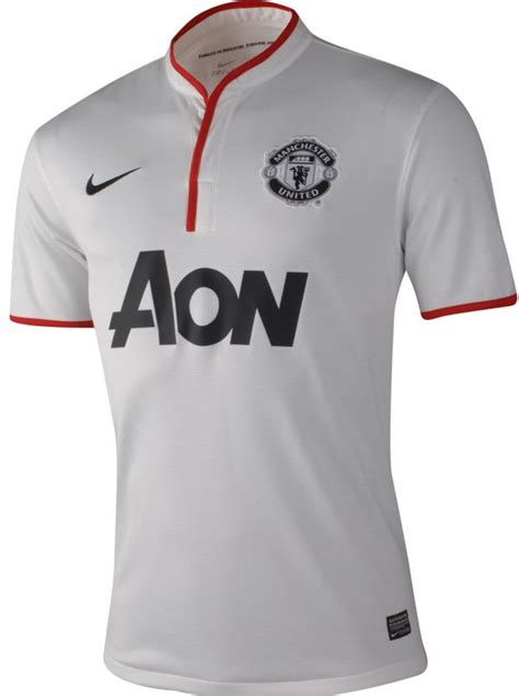 desain jersey mu terbaik new man utd away kit 12 13 white manchester united 2012