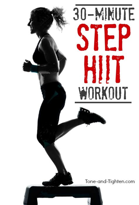 total step hiit workout tone and tighten
