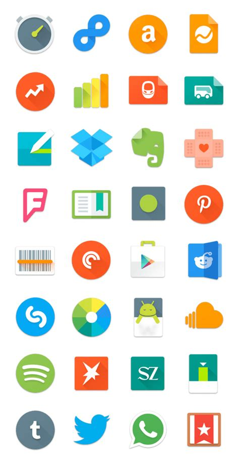 design app icon android 10 free design resources for android l google material