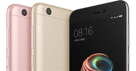One Xiaomi Redmi 5a xiaomi redmi 5a price specifications features availability
