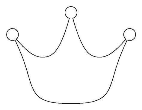 Printable Crown Template Pattern