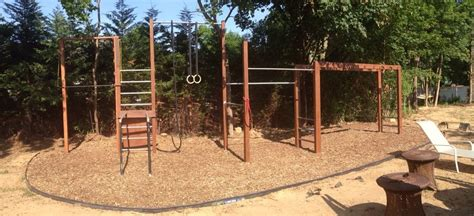 backyard gymnastics equipment check out my outdoor gym bodybuilding com forums