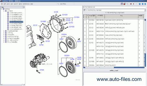 mitsubishi parts catalog html autos weblog
