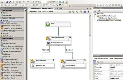 office layout and workflow k2 for visual studio