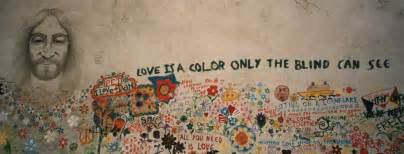 Graffiti Curtains Imagine Meaning