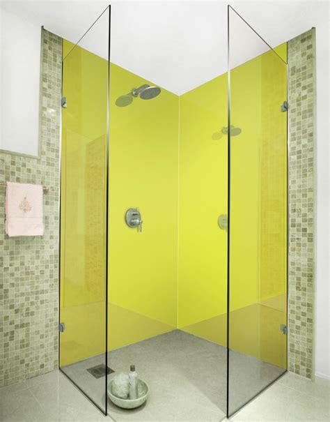 Bathroom Acrylic Shower Panel Green Yellow M Acrylic Shower Panels Splash Acrylic