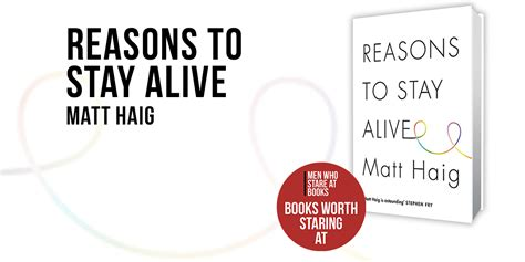 libro reasons to stay alive reasons to stay alive by matt haig