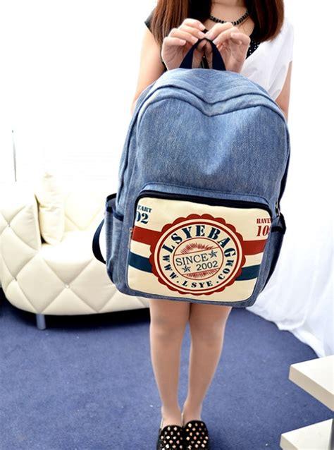 Tas Ransel Korea Import Murah Js21199 Putih tas ransel wanita kanvas 2014 model terbaru jual murah import kerja