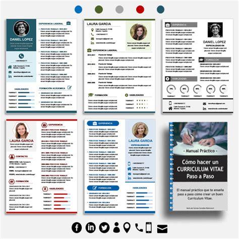 Plantilla De Curriculum Vitae Moderno 2014 50 tipos de curriculum vitae para diferenciarte de tu