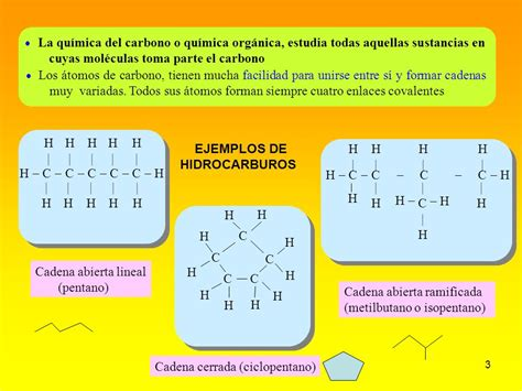 cadenas abiertas definicion qu 205 mica org 193 nica o del carbono ppt descargar