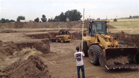 building a house 05 excavation youtube