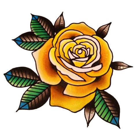 old school tattoo png rose tattoo png transparent images png all