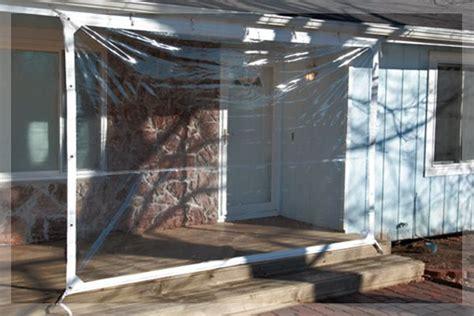 easy to install curtains itarp patio windbreak outdoor a clear vinyl patio