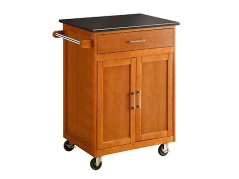linon kitchen island w granite top