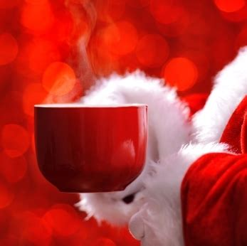 Santa Knows The Benefits Of Coffee And Mrs. Claus Makes It Best