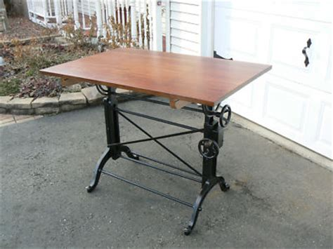 frederick post drafting table machine age antique frederick post drafting table