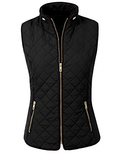 Quilted Vest Womens by 187 Ne Womens Lightweight Quilted Zip Vest