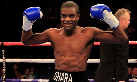 ohara davies in conversation with ohara davies boxing monthly