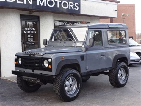 1990 land rover defender 90 1990 land rover defender 90 2 5 turbo diesel for sale