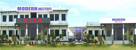 Institute Of Technology Mba Cost by Modern Institute Of Technology And Management Mitm