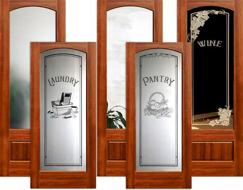 Interior Wood Doors With Frosted Glass Interior Etched Glass Doors Lite Interior Doors Interior Doors