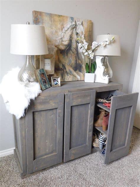 radley hidden shoe cabinet  plans handmadehaven