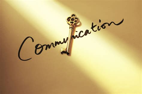 The Key accountability the key to great communication map