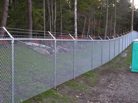 chain link fence security chain link fence installations near burlington vt