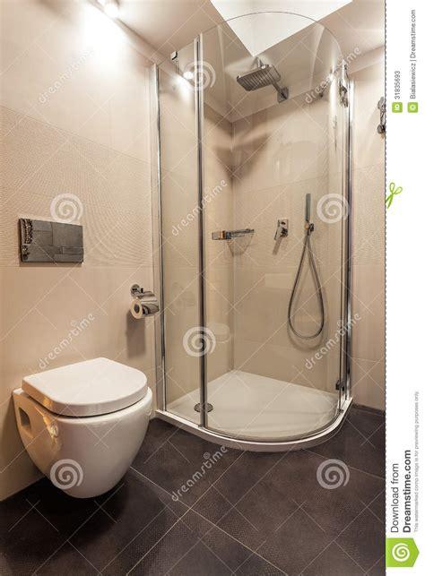 Toilette Dans La Salle De Bain
