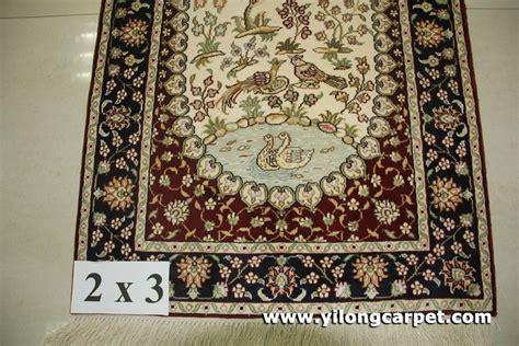 Handmade Silk Rugs - factory wholesale price 2x3 handmade silk rug b1844 2x3