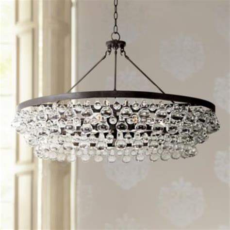 Robert Abbey Bling Collection Large Deep Bronze Chandelier Robert Bling Chandelier Large