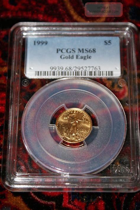 Gold Bullion 250gr B O S 1999 5 gold eagle pcgs ms68 us gold bullion 1 10 ounce