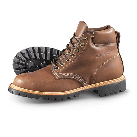 works boots for mens s carolina 174 6 quot city work boots brown 283162 work
