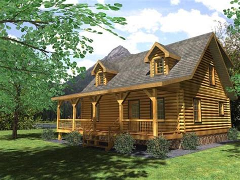 frontier d log home plan option a by honest abe log homes